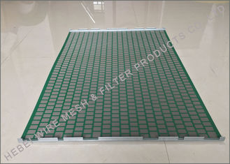 Professional Shale Shaker Screen Light Weight SS304 / SS316 Raw Material
