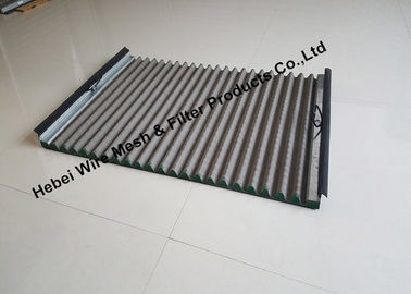 Light Linear Motion Shale Shaker Vibrating Screen , Oil Vibrating Sieving Mesh Screen